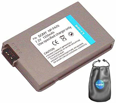 Amazon Com Digital Replacement Camera And Camcorder Battery For Sony Dcrdvd7 Dcrdvd7e Includes Lens Pouch Digital Camera Batteries Camera Photo
