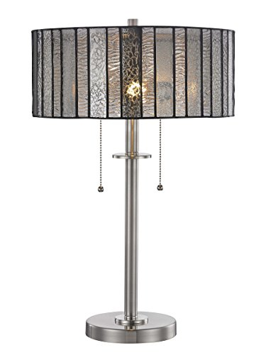 Springdale by Dale Tiffany STT17028 Vincel Tiffany Table Lamp, Brushed ()