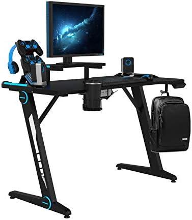 Cheap Pure Pang Z-Shaped Computer Desk modern office desk for sale