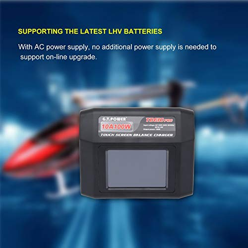 Wikiwand G.T Power TD610 Pro 10A 100W Balance Charger for LiPo Life LiHV NiCd NiMH US