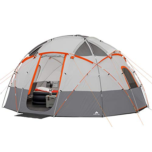 (Ozark Trail 12-Person Base Camp Tent with Light)