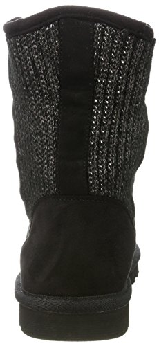 Knitted en Black para Fur Botas Negro Boot Preu Mujer aus Antideslizantes Bentja Fritzi ZqwIEHw
