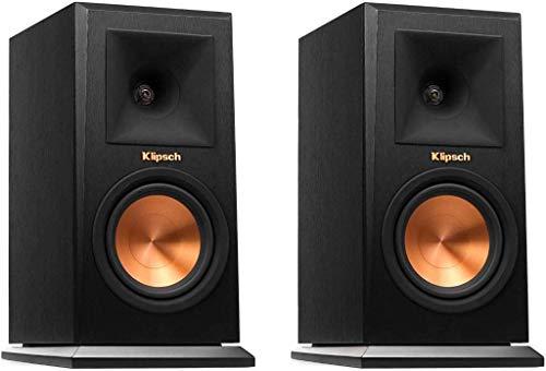 Klipsch RP-150M Reference Premiere Monitor Speaker with with copper Cerametallic woofers and a Hybrid Tractrix Horn for legendary sound