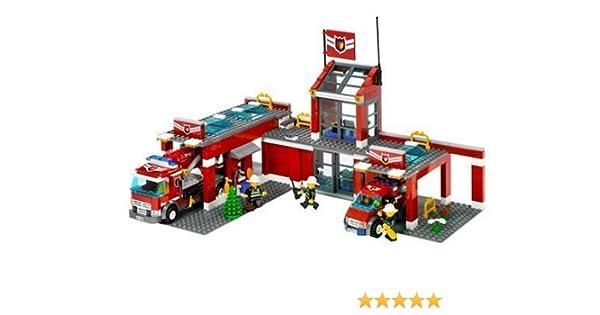 LEGO City 7945 - Estación de Bomberos: Amazon.es: Juguetes y juegos