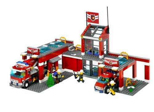 Amazon Lego City Fire Station Toys Games