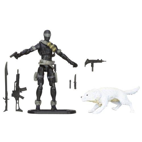 G.I. Joe Retaliation Snake Eyes figure with Timber -