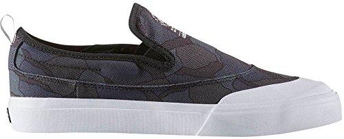 adidas Originals Herren Matchcourt Slip Skateschuh Schwarz / Utility Schwarz / Weiß