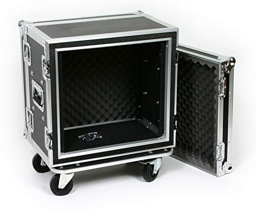 10 Space (10U) ATA Rack Effects Road Shock Mount Case (12