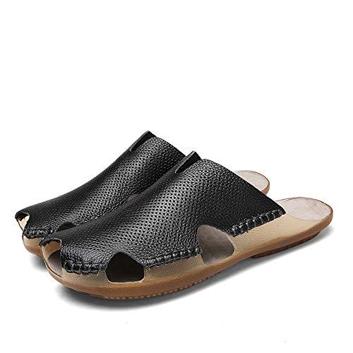 Otoño Primavera Adecuadas Zapatillas El Las Black Verano Sharon Light Amantes Desgaste De Feel Hide Casual La Zhou Summer Cool Los Y Transpirable Toe Opcional Para naBFU4xqaw