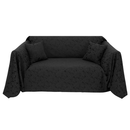 black sofa throw – Home and Textiles