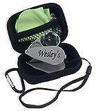 Wesley's 40X Jewelers Loupe Magnifier LED/UV Illuminated, Includes a Sturdy EVA Travel Carrying