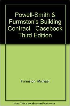 Book Building Contract Casebook