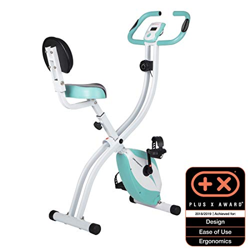 Ultrasport F-Bike 200B met rugleuning – hometrainer – fitnessbike – mint
