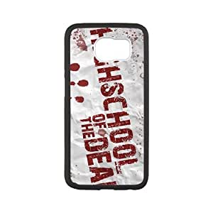 HIGHSCHOOL OF THE DEAD Samsung Galaxy S6 Cell Phone Case White xjsd