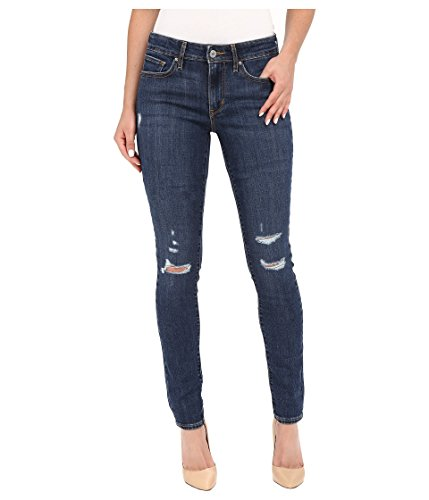 Levi's Women's 711 Skinny Jeans, Damage Is Done, 27Wx28L