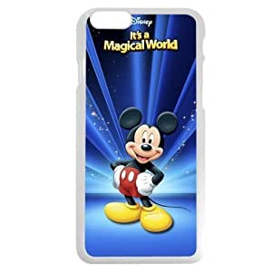 Diy White Hard Plastic Plastic Disney Cartoon Mickey Mouse Diy For Ipod mini Case Cover Case, Only fit Diy For Ipod mini Case Cover