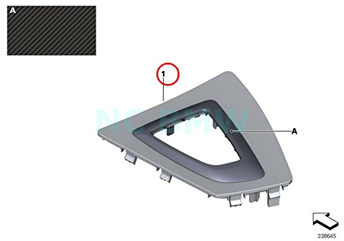 (BMW Genuine Center Console Trim For Gear Selector)