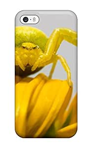 Fashionable YbgsdBc1112htqmM Iphone 5/5s Case Cover For Yellow Spider Close-up Protective Case