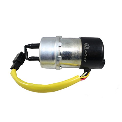 (HFP-184 Electric Fuel Pump Replacement for Kawasaki Vulcan 1500/1500 Classic/1500 L/1500 Nomad VN1500 Carburated (1996-2004) Replaces 49040-1063, 49040-1054, 49040-1056)