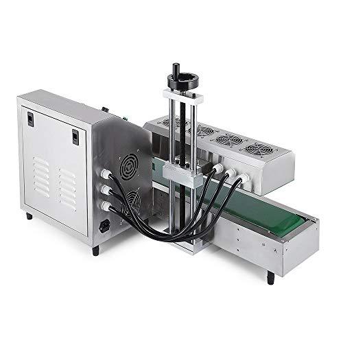 Sumeve Continuous Induction Sealer Automatic Induction Bottle Sealing Machine Bottle Cap Sealer For Cap Diameter 20mm - 80mm 110V 220V (110V) by Sumeve (Image #1)