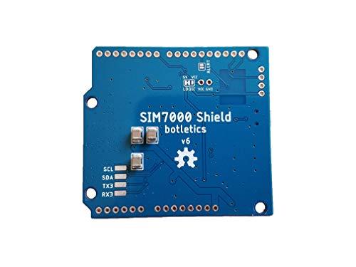 Botletics SIM7000 LTE CAT-M1 NB-IoT Cellular + GPS + Antenna Shield Kit for  Arduino (SIM7000A)