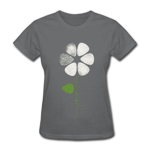 YZ Paul Mccartney Logo T Shirt For Women DeepHeather (St Jude Logo)
