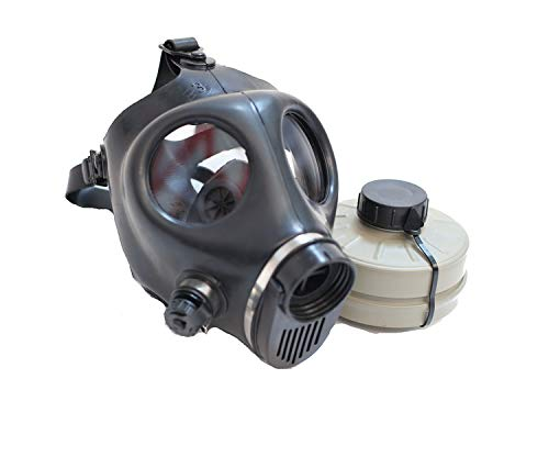 Gas mask (Small Size) with Filter Black -