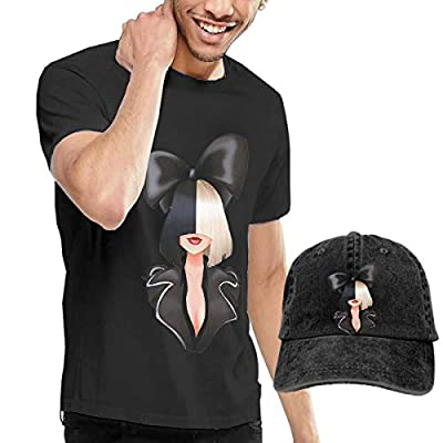 Female Singer Shirt Fashion Short Sleeved Front HD 3D Print T-Shirt Unisex (S-3XL) and Cowboy Hats