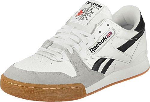 Scarpe Uomo Pro white Phase Sneakers 1 Cn3401 Reebok black snow Bianco qwaUCdBxXn