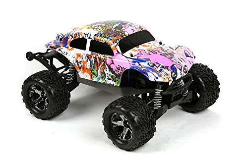 Compatible Custom Body Graffiti Pink Pig Style Replacement for 1/10 Scale RC Car or Truck (Truck not Included) STB-PIG-01 ()