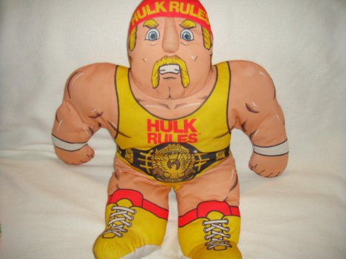 VINTAGE TONKA WWF HULK HOGAN WRESTLING BUDDIES PILLOW PLUSH FIGURE
