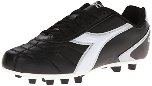 Diadora Men's Capitano LT MD-M Sandal, Black/White, 12.5 M US