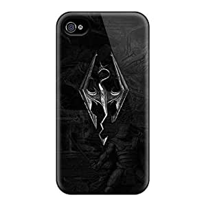 Rugged Skin Cases Covers For Samsung Galaxy Note3- Eco-friendly Packaging(skyrim)