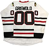 XinXin Mrs Clark Griswold #00 Hockey Jersey X-Mas Christmas Vacation The Movie Men (US M, White)