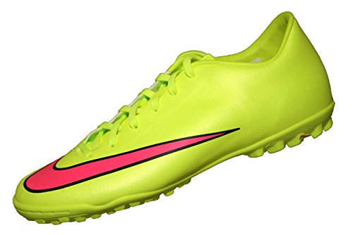 Nike - Mercurial Victory V TF - Couleur: Jaune-Vert - Pointure: 45.5
