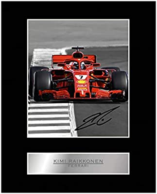 Kimi Raikkonen Autograph Signed Photo Print