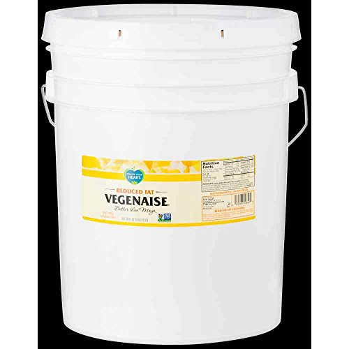 Follow Your Heart Reduced Fat Vegenaise, 5 Gallon - 1 each.
