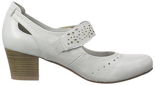 24307 Du Jana Femme 101 Gris À ice Grau Pieds Chaussures Talons Avant Couvert XpggwCdx