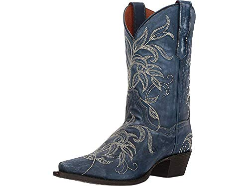 - Dan Post Western Boots Cowboy Design Ultimate Flex Insole Ostrich Leather 10 EE US Men Brown
