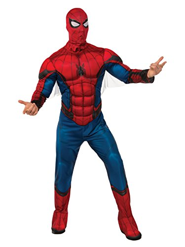Rubie's Deluxe Spiderman Mens Costume