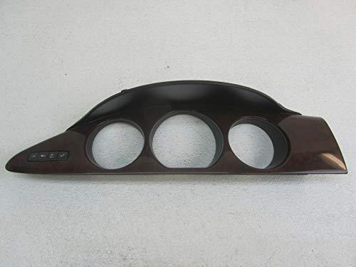 Morad Parts 08 Fits Buick Lucerne Woodgrain Wood Grain Speedometer Dash Bezel Trim Panel Hood ()