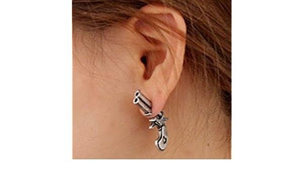 onlinegrocerystore (TM) moda pendientes Piercing de oreja Stud ...