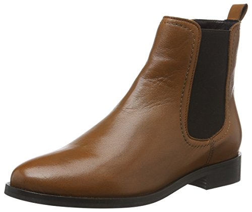 Buffalo London Es 30855 Sauvage, Zapatillas de Estar por Casa para Mujer Marrón - Braun (Cognac 01)