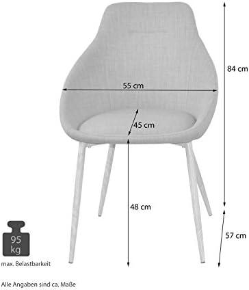 moebel direkt online Charlotte Lot de 2 chaises