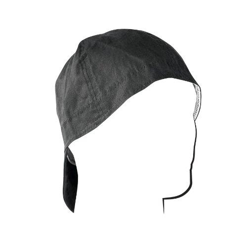 (ZANheadgear Welder Cap (Black, 7.25