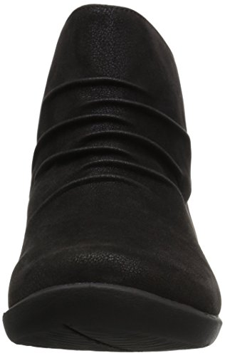 Granate Sway Black Sillian Synthetic Clarks Bottine 26122557 Nubuck wAxqttPRI