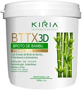 Botox Capilar Bttx 3d Kiria Bambu Cabelo Fragilizado Zero Formol 1000g