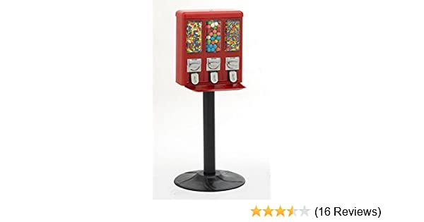 Triple Vend Candy & Gumball Vending Machine