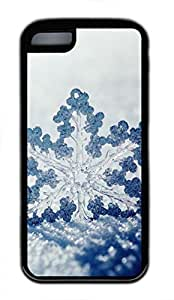 iPhone 5c case, Cute Winter Snow iPhone 5c Cover, iPhone 5c Cases, Soft Black iPhone 5c Covers