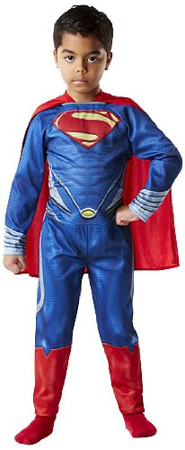 Rubies Superman - Disfraz Man of Steel, para niños, Talla S 886504 ...